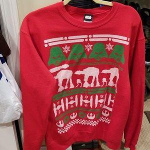 Star wars ugly christmas sweater medium